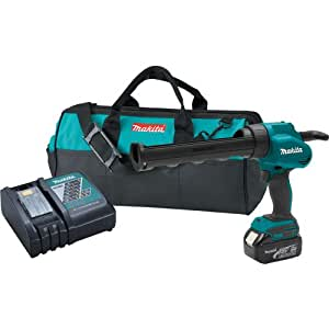 Makita LXGC011 18V LXT Lithium-Ion 10-Ounce Caulk and Adhesive Gun Kit (Discontinued by Manufacturer)