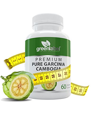 Pure Garcinia Cambogia Weight Loss Pills With 95  Hca  Extra Strength 1600 Mg   Advanced Carb Blocker   Fat Burner  Stimulant   Gluten Free Diet Pills  Appetite Suppressant For Woman And Men