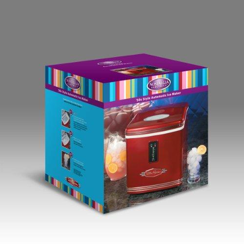 082677115812 - Nostalgia RIC100 Retro Series 26-Pound Automatic Ice Maker carousel main 2