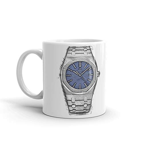 (Audemars Piguet Royal Oak 15400ST.OO.1220ST.03 Mug 11 Oz White Ceramic )