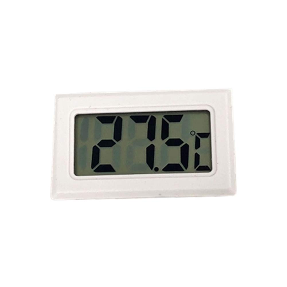 yuguEnviprot Indoor Outdoor Home Mini LCD Digital Wireless Thermometer Hygrometer Temperature Humidity Meter Black