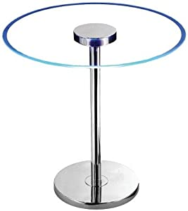 End Table Modern LED Accent Table