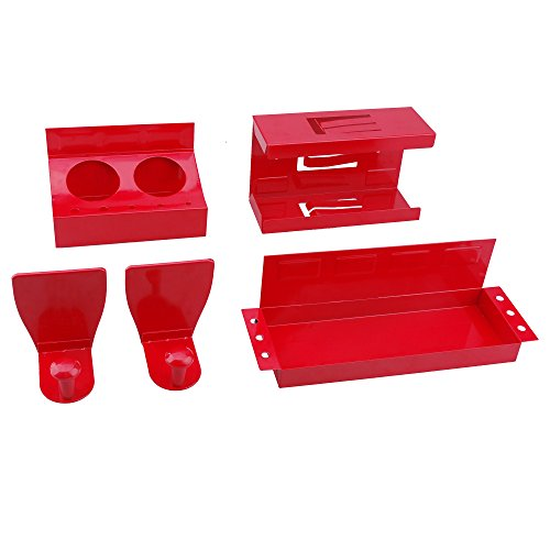 42699 STEEL CORE 4Pc Magnetic Tool Box Accessory Kit - Glove Dispenser