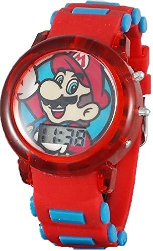 (Super Mario Kid's Digital Light Up Watch & Band)