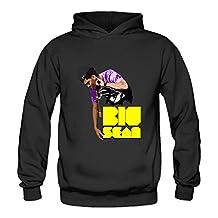 Crystal Men's Big Sean Long Sleeve Hoodied Sweatshirt