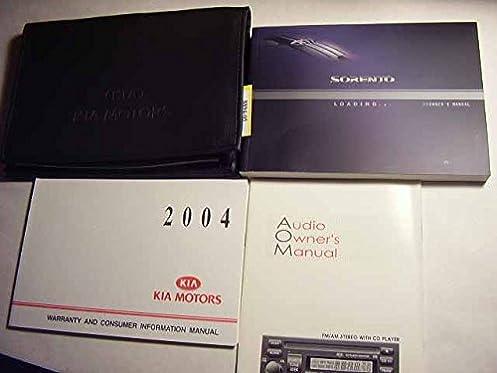 2004 kia sorento owners manual kia amazon com books rh amazon com 2004 Kia Sorento Manual Transmission 2004 Kia Sorento Owner's Manual