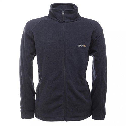 Regatta Great Outdoors Mens Hedman II Two Tone Full Zip Fleece Jacket (S) (Navy/Navy)