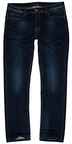 amp; Hombre Dunkelblau EDO Used Recto Fashion Vaquero Md072 para Jeans fw51wv