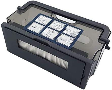 JangGun Store 1 Pieza de Repuesto de Caja de Polvo para Ecovacs Deebot DM86 DR92 DR95 DR97 Robot Aspirador Piezas Accesorios filtros: Amazon.es