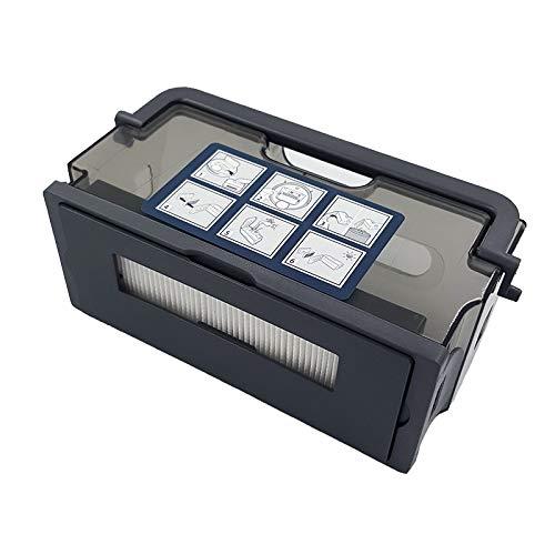 JangGun Store 1 Pieza de Repuesto de Caja de Polvo para Ecovacs ...