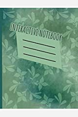 Interactive Notebook: INB Template Composition Book: Pre-made Table of Contents, Numbered Pages, Sketch Paper (left output side), Wide Ruled (right ... Glossary area Softcover Paperback 8.5 x 11. Paperback