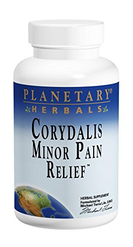 Planetary Herbals Minor Pain Relief Tablets, 750 mg, 60 Count Review