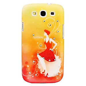 Beautiful Girl Pattern Hard Case for Samsung Galaxy S3 I9300