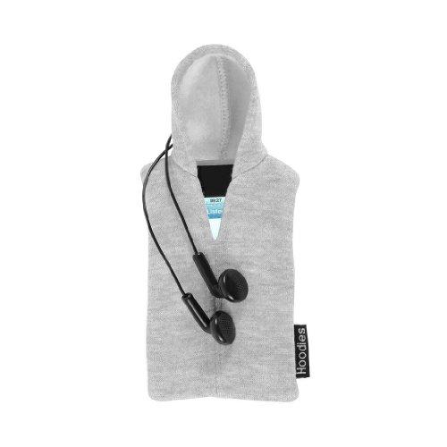 Slam Design Hoodies Kapuzen-Shirt Schutzhülle für Apple iPhone3 / 4 / 4s und iPod hellgrau