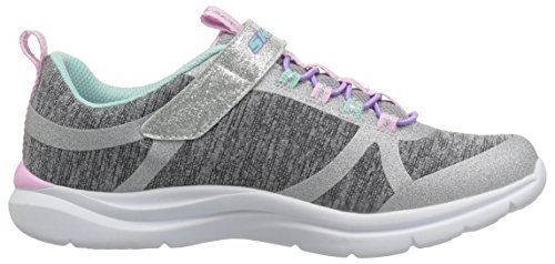 Skechers Kids Girls' Trainer LITE- Jazzy Jumper Sneaker, GYMT, 13 Medium US Little by Skechers (Image #7)