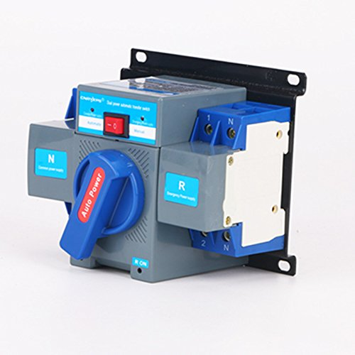 Automatic Power Switch (New Industry Dual Power Automatic Transfer Switch 2P 63A 220V/380V Toggle Switch)