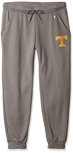 Champion NCAA Tennessee Volunteers Adult Women NCAA Women's Cool Down Pant,Large,Titanium