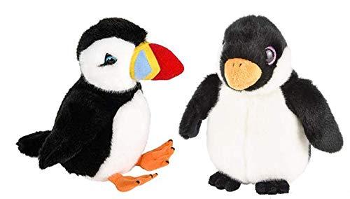"CVN Arctic Pals - Adorable Plush 7"" Buttersoft Puffin & Penguin - Adventure Planet Heirloom Collection ()"