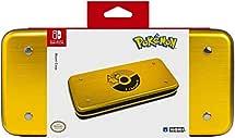 HORI Nintendo Switch Pikachu Alumi Case (Gold) Officially Licensed By Nintendo & Pokemon - Nintendo Switch