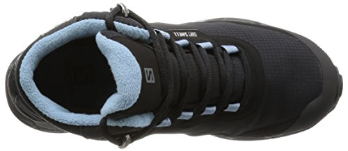 Salomon L39072900 - Botas de senderismo Mujer Negro (Black /         Black /         Windy Blue)