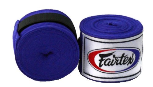 1 Pair of New Fairtex Muay Thai - Elastic Cotton Handwraps HW2 180