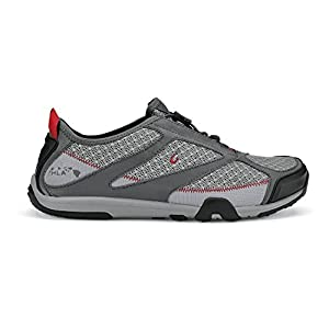 Olukai Eleu Trainer Water Shoe - Men's Grey/Dark Shadow, 12.0