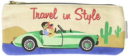 Molly & Rex 38590 Road Trip Zippered Pencil Bag - None