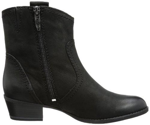 001 Black Cowboy Women's black Boots Schwarz Tamaris 48pAwqw