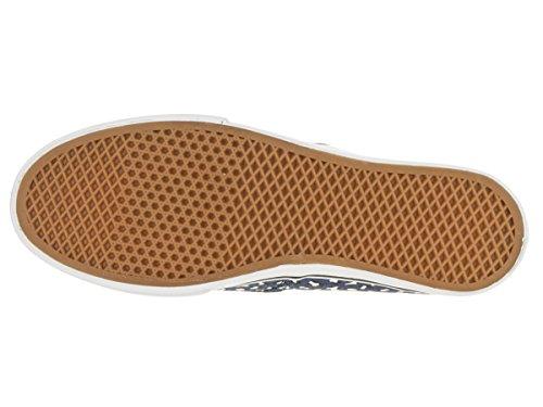 Vans U AUTHENTIC LO PRO VGYQ1W5 - Zapatillas de deporte de tela unisex, color negro, talla Fällt aus Normal Navy White