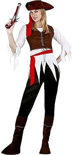 Juguetes Fantasia - Disfraz mujer pirata caribeña adulto: Amazon ...
