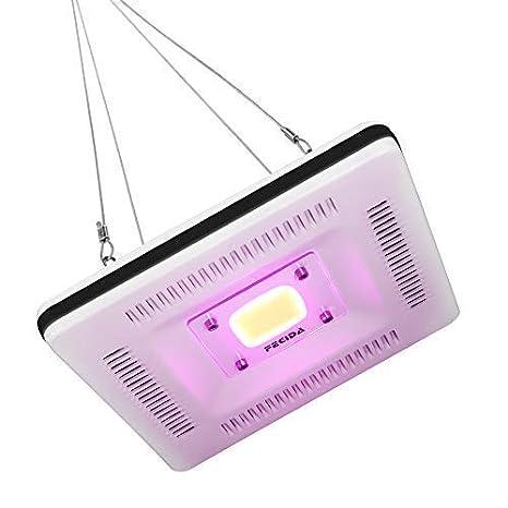 Mejor Led Cultivo Luces Impermeable, 50W Cob Bombilla, 300W Cfl & HPS & Fluorescente