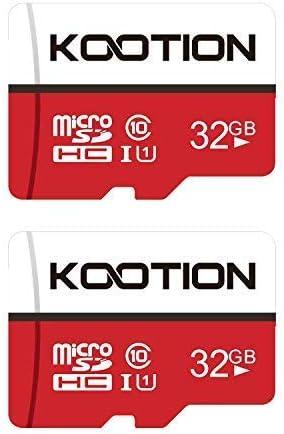 KOOTION Micro SD 32GB Clase 10 Tarjeta de Memoria Micro SDHC Tarjeta MicroSD(U1 y A1) 32 Giga Memory Card TF Card Alta Velocidad de Lectura hasta 100 MB/s, para Móvil,Cámara Deportiva,Switch,Gopro: Amazon.es: