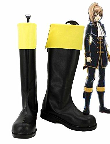 Gintama Okita Sougo Zapatos De Cosplay FeHombresinos Botas Por Encargo