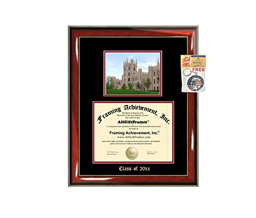 Illinois University Diploma Frame - Diploma Frame Big Northern Illinois University School Campus Photo NIU Double Matted Degree Framing Document Graduation Gift Bachelor Master MBA Doctorate PHD Best