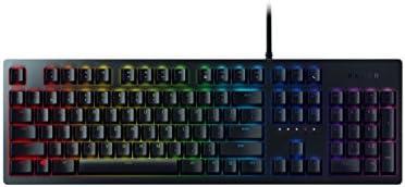 Razer Huntsman - Teclado mecánico gaming con switches optomecánicos (barra estabilizadora de teclas, memoria híbrida local, RGB Chroma) [QWERTY Español]