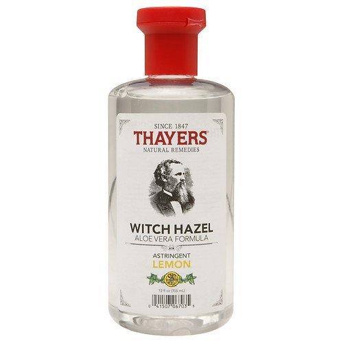 Thayers Lemon Witch Hazel with Organic Aloe Vera Formula Astringent 12 fl oz (355 ml) (Pack of 1) ()