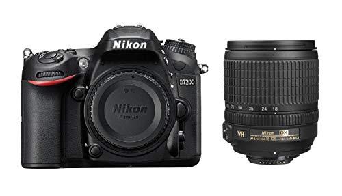 Nikon D7200 24.2 MP Digital SLR Camera (Black) with AF-S 18-105mm VR Kit Lens and Card, Camera Bag 1
