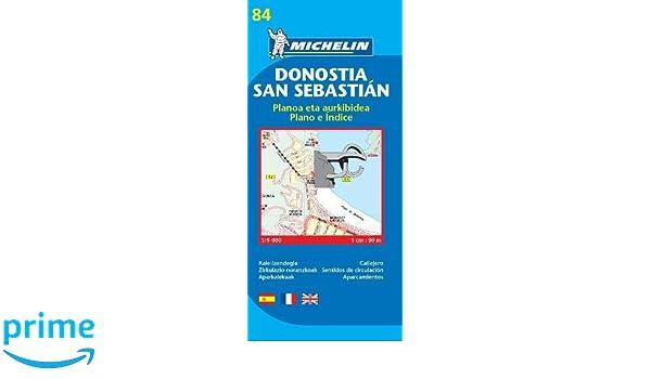 Plano Plegable Donostia-San Sebastián (Planos Michelin): Vv.Aa: Amazon.es: Belleza