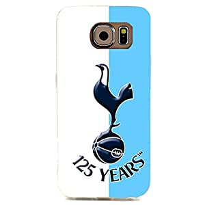 Stylish Blue With White Stripes Background Tottenham Hotspur Football Club Phone Case Fantastic Hard Cover Case For Samsung Galaxy S6 Edge