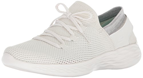 You Baskets Blanc Skechers Femme Enfiler Spirit White da0wqR