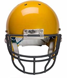 Black Reinforced Oral Protection (OPO-XL) Full Cage Football Helmet Face Guard from Schutt