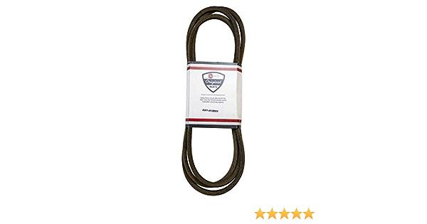 SureFit Deck Drive Belt Exmark 1-413093 Husqvarna 539109242 Lazer Z CT Quest 2PK