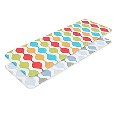Tenby Living Premium Anti-Fatigue, Kitchen Comfort Mat (Extra Large) - Double-Sided (1 Unit) (47  x 17.3 ) - 2 Sizes Available