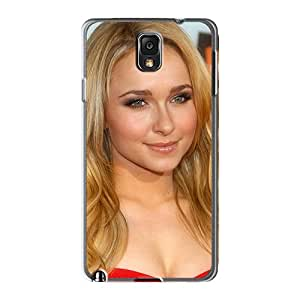 Protector Cell-phone Hard Covers For Samsung Galaxy Note 3 (WJJ282rtmb) Allow Personal Design Colorful Hayden Panettiere 3 Image