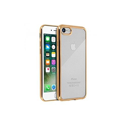 Smartcase Coque pour iPhone 6 Contour chromé/Or et l'appareil compatible est iPhone 6