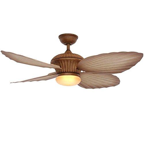 Home Decorators Tropicasa 54 in. Bahama Beige Indoor/Outdoor Ceiling Fan (Beige Finish Bahama)