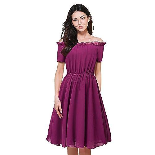 Vestidos Dama de honor Cortos: Amazon.es