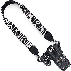 Wolven DSLR/SLR Camera Neck Shoulder Strap Belt Canvas Digital Camera Strap For Nikon Canon Samsung Pentax Sony Olympus Leica ETC