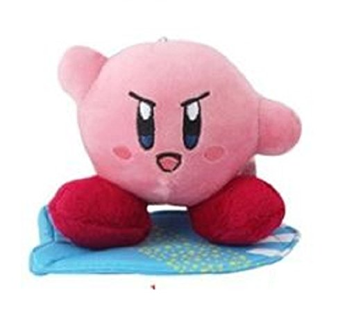 """Kirby Plush 5.2"""" / 13cm Lovely Suction Cup Doll Stuffed Animals Cute Soft Anime Collection Toy"""