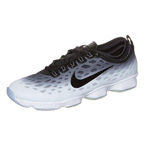 y Cross Training Shoes (Womens) Size: 11.5 (11.5, Black/White) ()